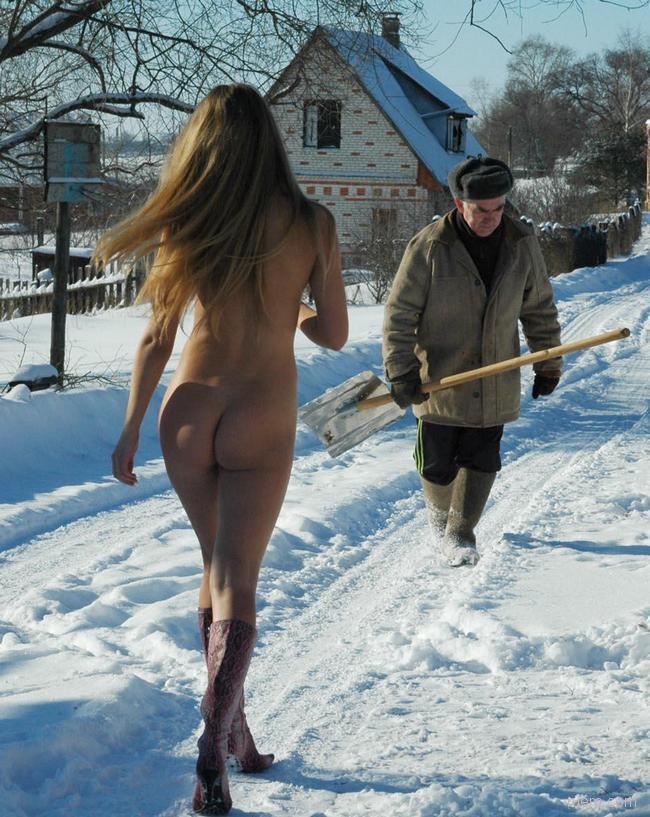 смешные фото голых телок